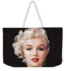 Pixelated Marilyn Weekender Tote Bag
