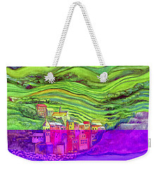 Pizza In Vernazza Weekender Tote Bag