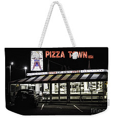 Pizza Town Weekender Tote Bag