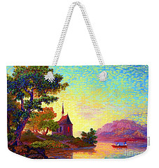 Beautiful Church, Place Of Welcome Weekender Tote Bag