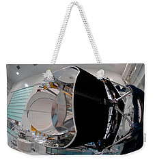 Weekender Tote Bag featuring the photograph Planck Space Observatory Before Launch by Science Source