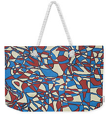 Planet Abstract Weekender Tote Bag by Jonathon Hansen