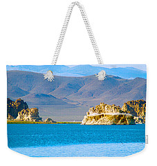 Planet Pyramid Weekender Tote Bag by Mayhem Mediums