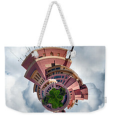 Planet Tripler Weekender Tote Bag by Dan McManus