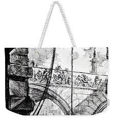 Plate 4 From The Carceri Series Weekender Tote Bag