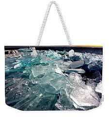 Plate Ice  Weekender Tote Bag