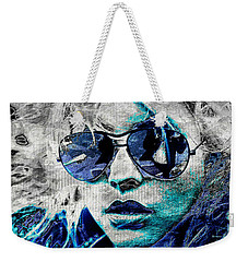 Platinum Blondie Weekender Tote Bag