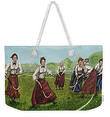 Play Of Yesterday Weekender Tote Bag