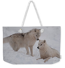 Weekender Tote Bag featuring the photograph Play Time by Bianca Nadeau