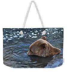 Playful Submerged Bear Weekender Tote Bag