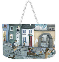 Playing Out Weekender Tote Bag
