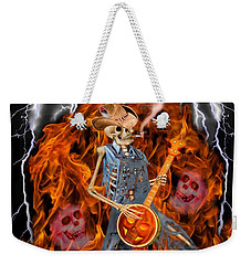 Playing With Fire Weekender Tote Bag