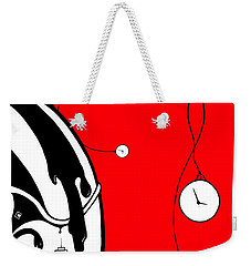 Playing With Time Weekender Tote Bag