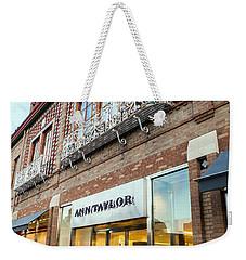 Plaza Store Weekender Tote Bag