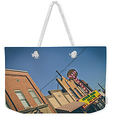 Plaza Theatre Weekender Tote Bag