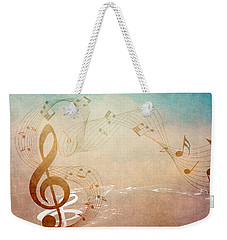 Please Dont Stop The Music Weekender Tote Bag