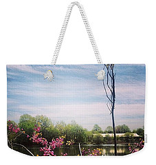 #pleasedontmakemegoinside Weekender Tote Bag