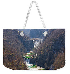 Plitvice Lakes National Park Canyon Weekender Tote Bag