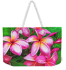 Plumeria After The Raiin Weekender Tote Bag