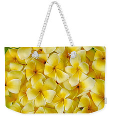 Plumerias In Bowl Weekender Tote Bag