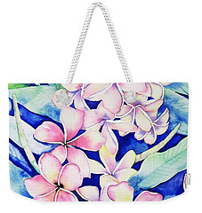 Plumerias Of Maui Weekender Tote Bag