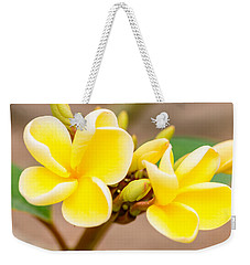 Plumerias Of Paradise 14 Weekender Tote Bag