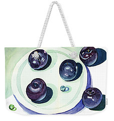 Plums Weekender Tote Bag