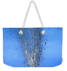 Weekender Tote Bag featuring the photograph Plunge by Viviana  Nadowski