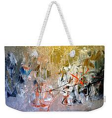 Poetry Weekender Tote Bag
