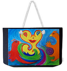Pogo Of Andromeda Weekender Tote Bag