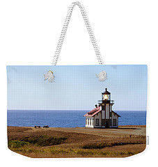 Point Cabrillo Light House Weekender Tote Bag
