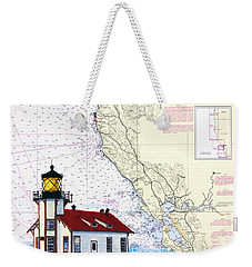 Point Cabrillo Light Station Weekender Tote Bag by Mike Robles