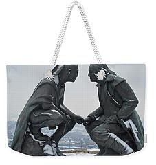 Point Of View Weekender Tote Bag