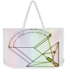 Point-out Projection Weekender Tote Bag