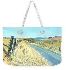Point Reyes Country Road Weekender Tote Bag