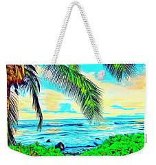 Poipu Sunrise Weekender Tote Bag