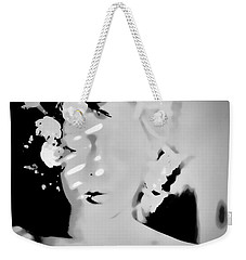 Weekender Tote Bag featuring the photograph Poise by Jessica Shelton