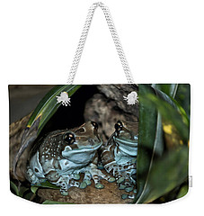 Poisonous Frogs With Sticky Feet Weekender Tote Bag by Thomas Woolworth