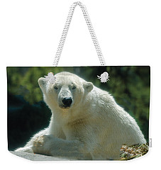 Polar Bear Portrait Weekender Tote Bag