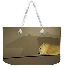 Polar Bear Shadows Weekender Tote Bag