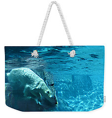 Polar Bear Weekender Tote Bag by Steve Karol