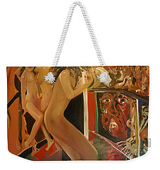 Pole Dancers And Their Admirers Weekender Tote Bag