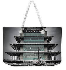 Pole Day At The Indy 500 Weekender Tote Bag