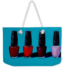 Polished Opi Nail Polish Weekender Tote Bag