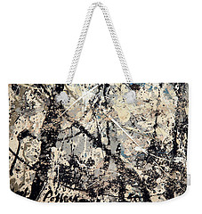 Pollock's Name On Lavendar Mist Weekender Tote Bag
