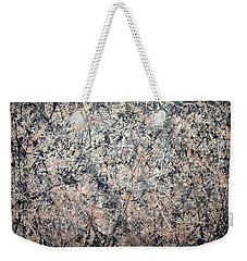 Pollock's Number 1 -- 1950 -- Lavender Mist Weekender Tote Bag