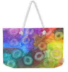 Polychromatic Rbc's Weekender Tote Bag