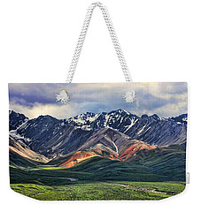 Polychrome Weekender Tote Bag by Heather Applegate