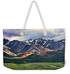 Polychrome Weekender Tote Bag
