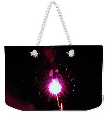 Weekender Tote Bag featuring the photograph Pom Pom by Amar Sheow